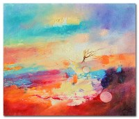 Ekaterina Eneva - In sunset - oil on canvas 30/35